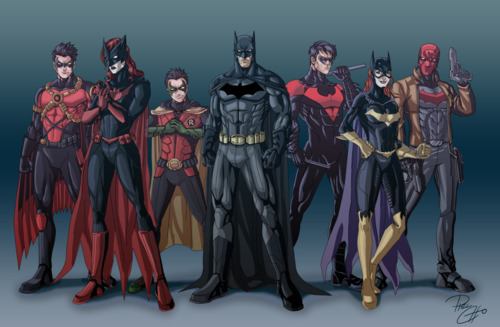 Batfamily new 52 batman