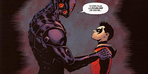 Batman et Robin Batman Saga Damian Wayna