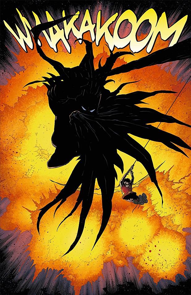 Batman et Robin Whakakoom