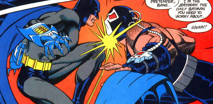 knightfall le défi batman bane
