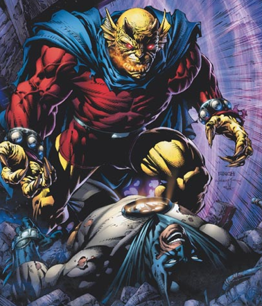 batman la nouvelle aube etrigan golden dawn