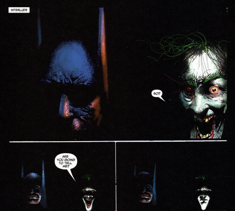 batman secrets joker dark knight
