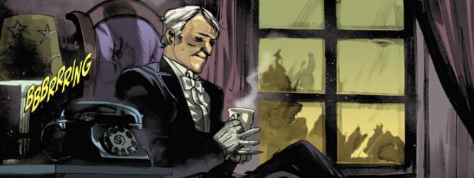 Batman La Nuit des Hiboux Jarvis Pennyworth