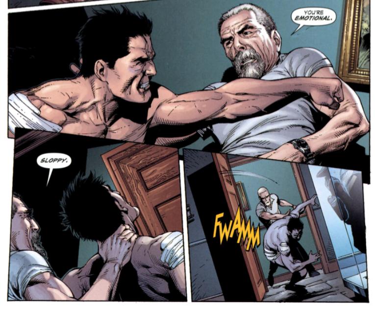 Batman Terre Un Bruce Alfred