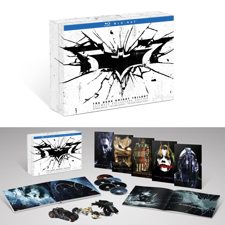 Coffret blu ray batman dark knight