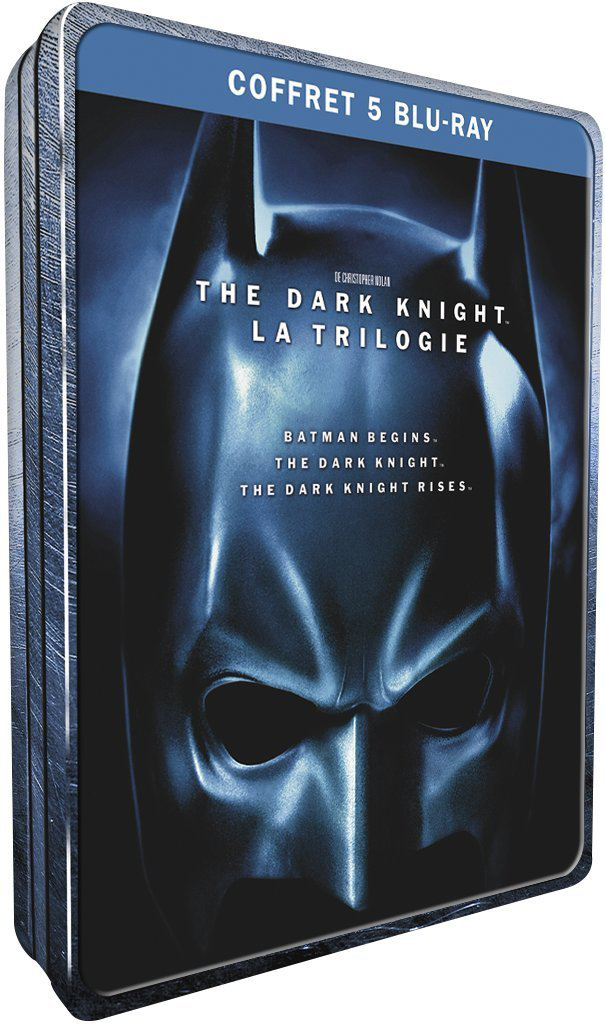 Coffret blu ray batman the dark knight