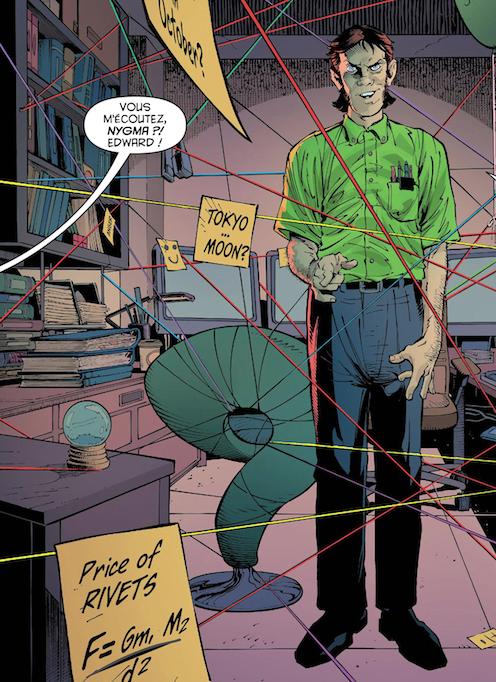 Batman Sphynx Zero Year