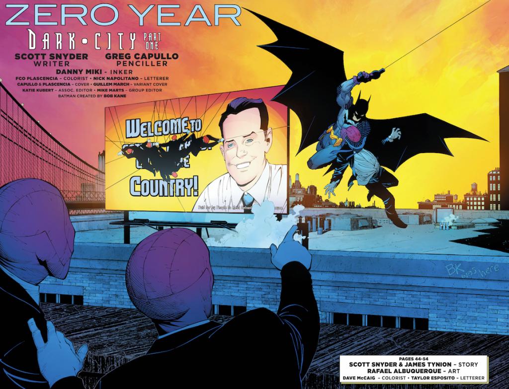 Batman Zero Year One
