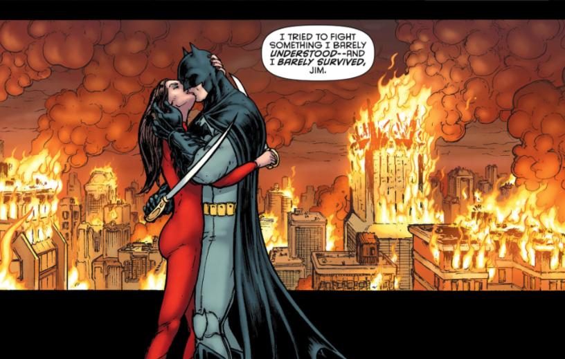 Bat Inc Talia Dark Knight