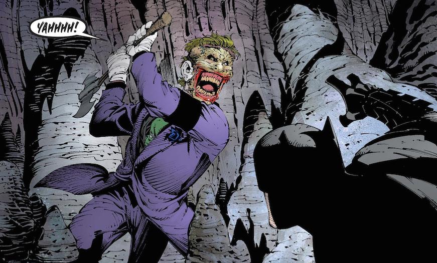 Joker Batman Deuil de la Famille