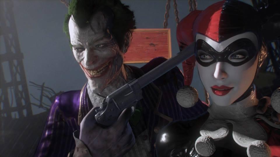Joker Harley Arkham Knight