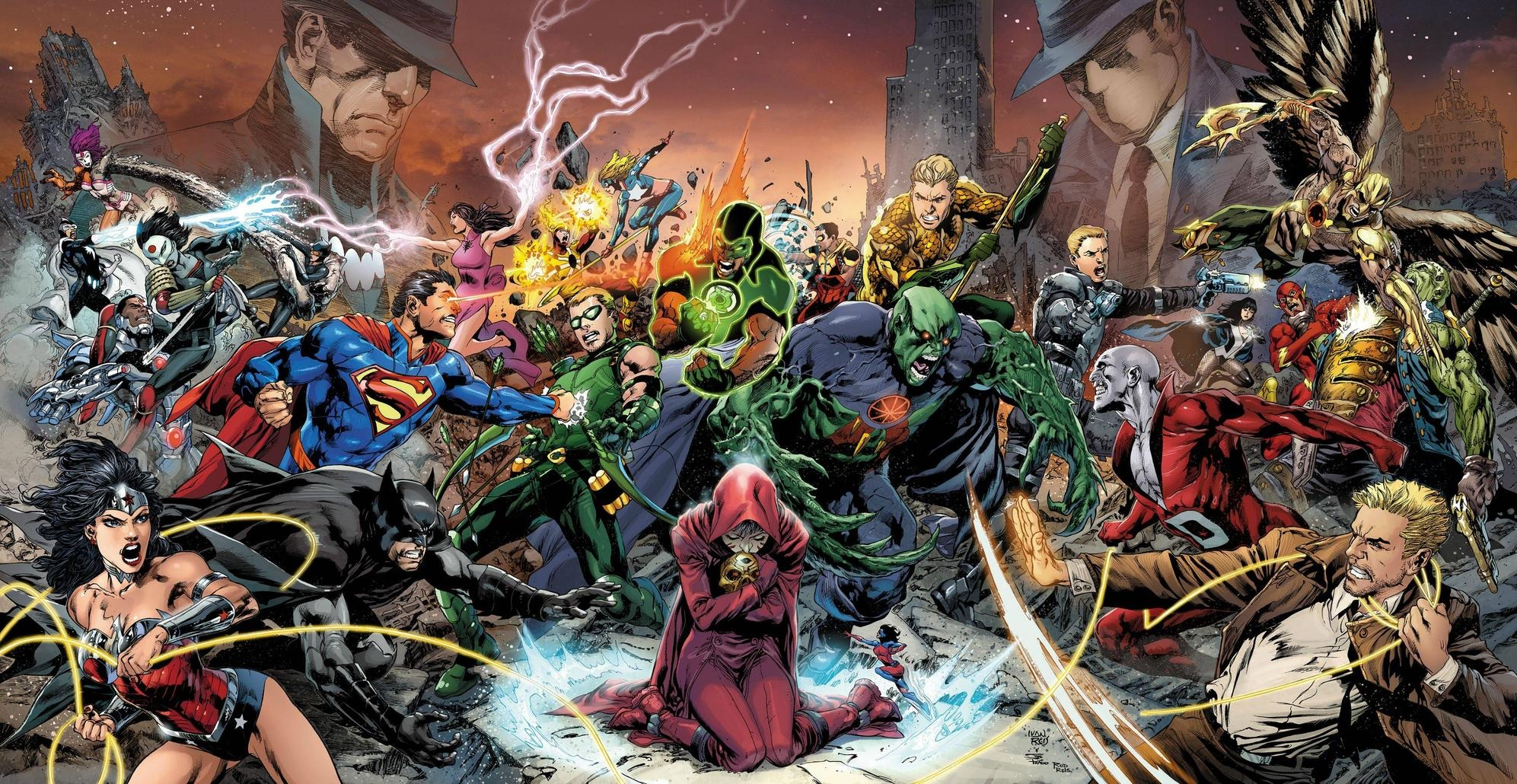 Trinity War Covers