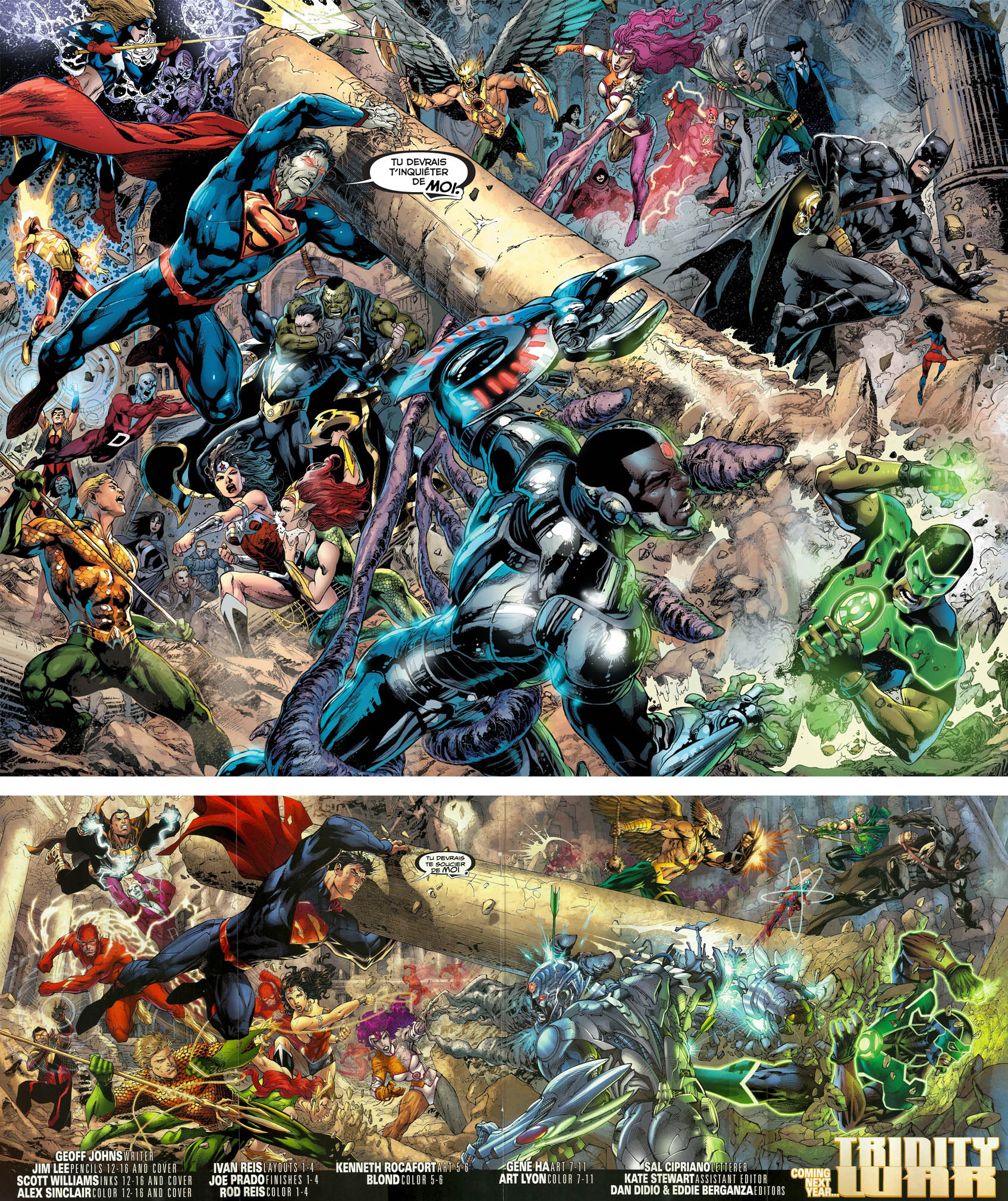 Trinity War jim Lee