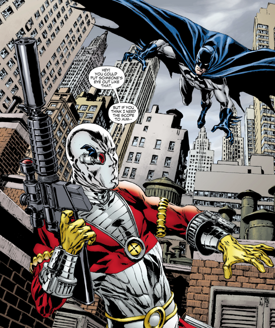 la cible de deadshot batman