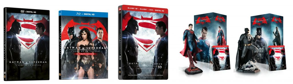 DVD BLURAY BATMAN V SUPERMAN