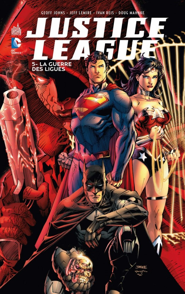 Justice League La Guerre des Ligues