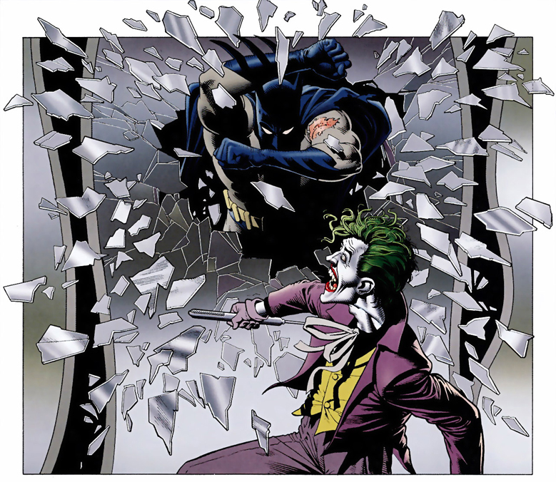 batman vs joker killing joke