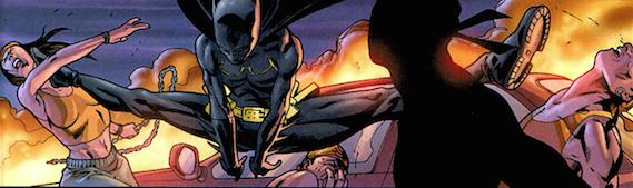 Batman Jeux de Guerre Batgirl Cassandra