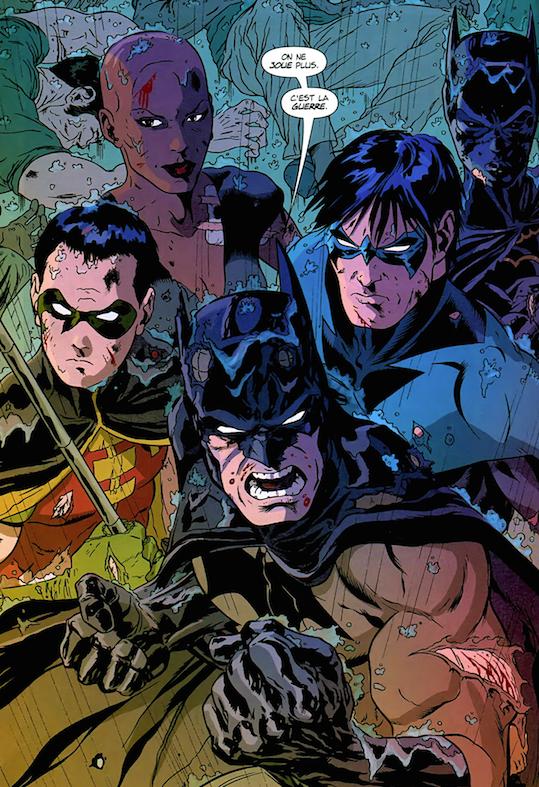 Batman Jeux de Guerre