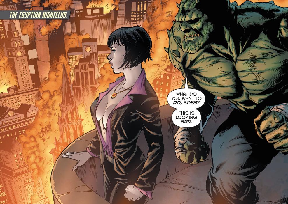 Batman Eternal Catwoman Killer Croc