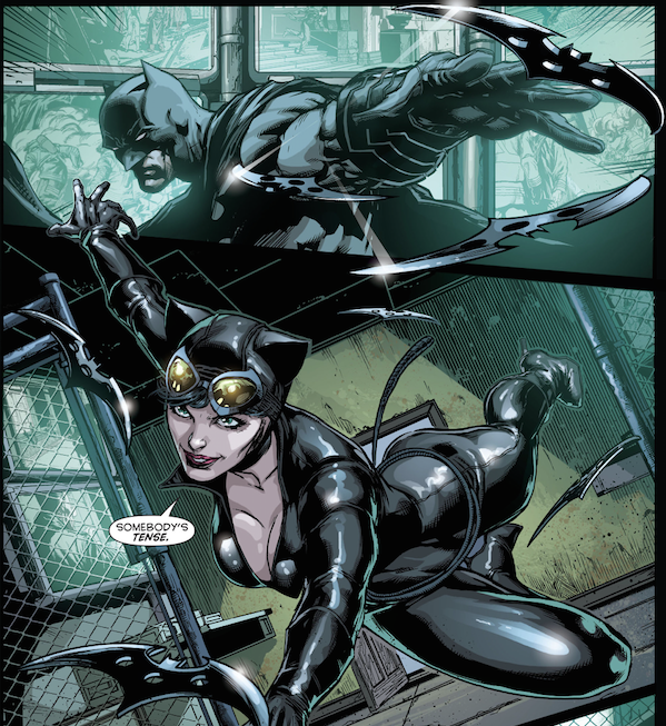 Batman Eternal Catwoman