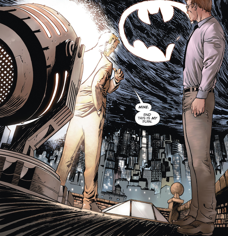 Batman Eternal GCPD