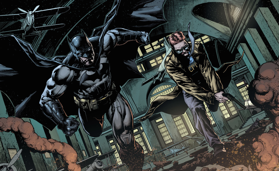 Batman Eternal Gordon
