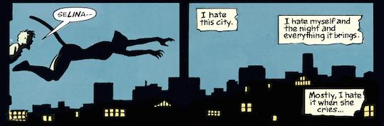 Batman Year One Selina