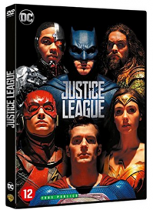 Justice League DVD