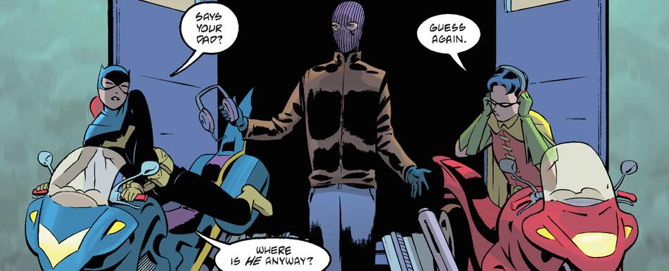 Batgirl Annee Un Robin Alfred
