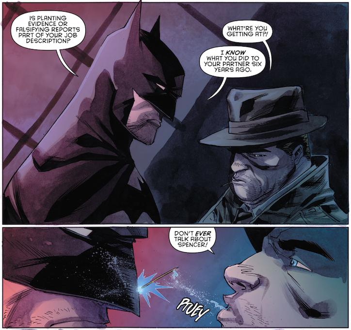 Batman Detective Comics Icare Icarus Bullock