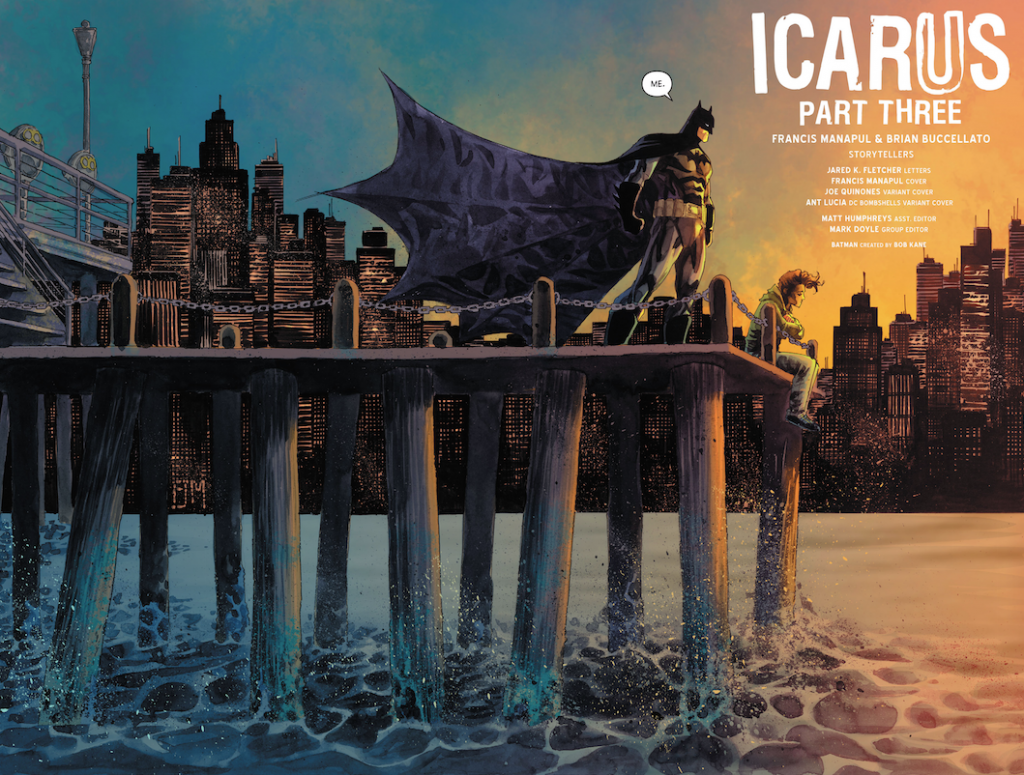 Batman Detective Comics Icare Icarus Part Three