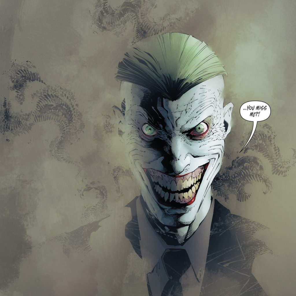 Batman Mascarade Joker Endgame