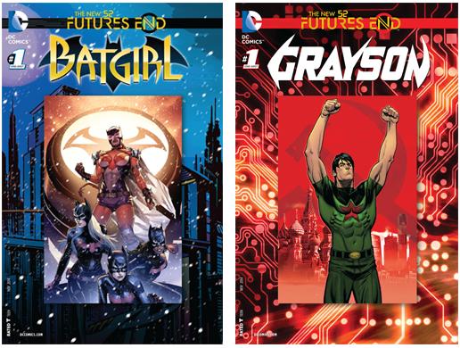 Futures End 03 Batgirl Grayson