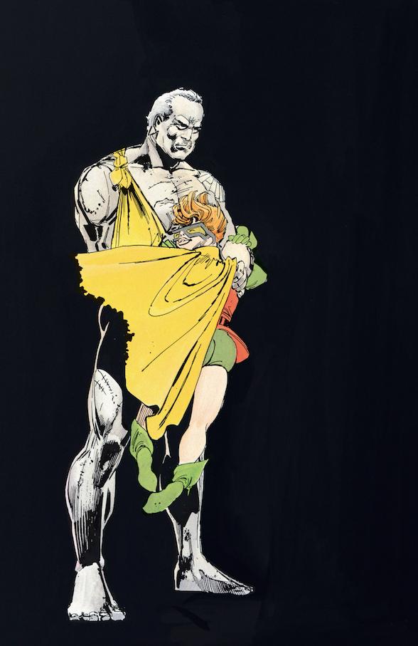 The Dark Knight Returns - Bruce Carrie Robin