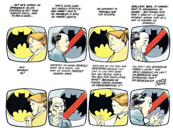 The Dark Knight Returns - Medias