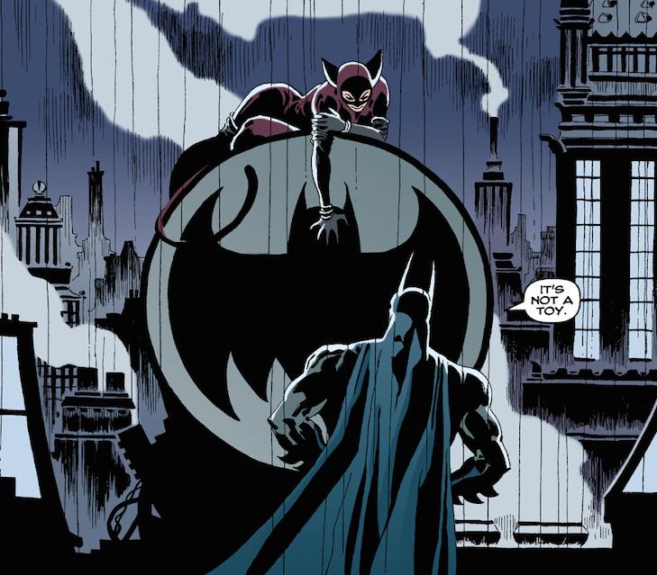 Batman Long Halloween Not a Toy