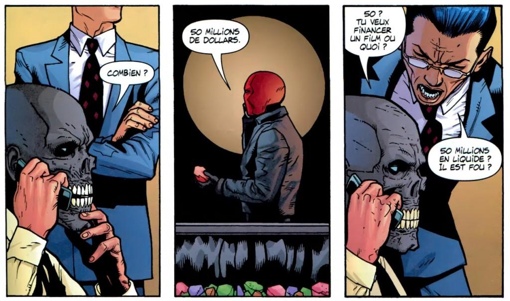 Batman Red Hood Black Mask