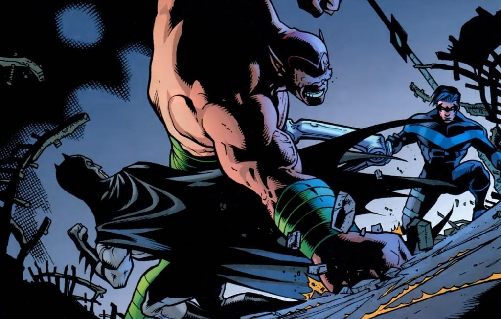 Batman Red Hood Nightwing
