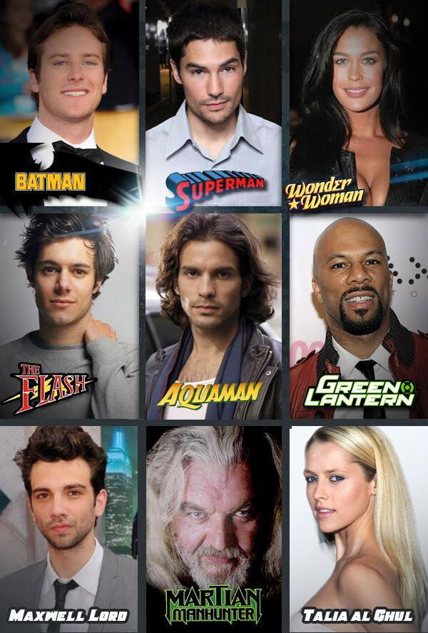 Justice League Mortal Casting