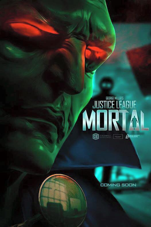 Justice League Mortal Martian Manhunter