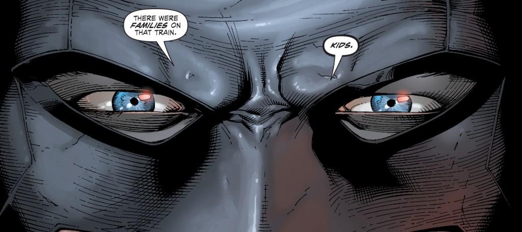 Batman Blue Eyes