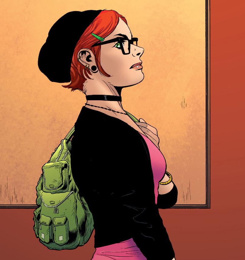 Batman & Robin Carrie Kelley
