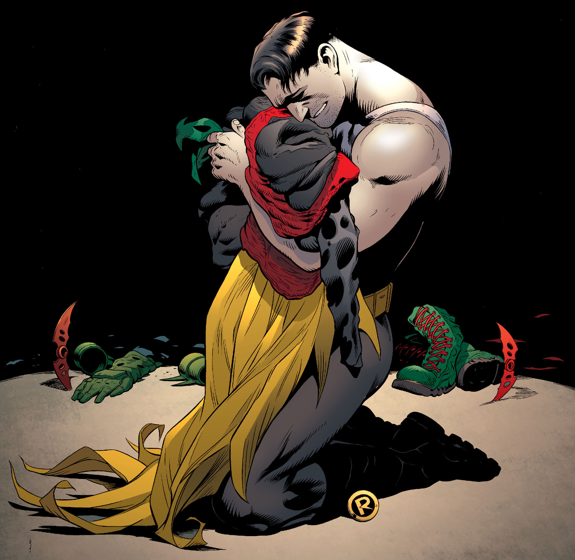 Batman & Robin Requiem Bruce