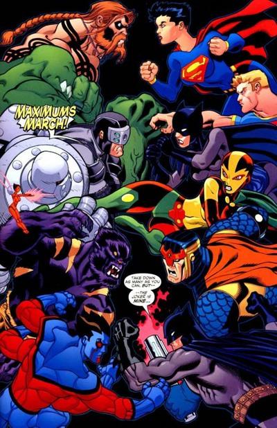 Maximums Batman Superman