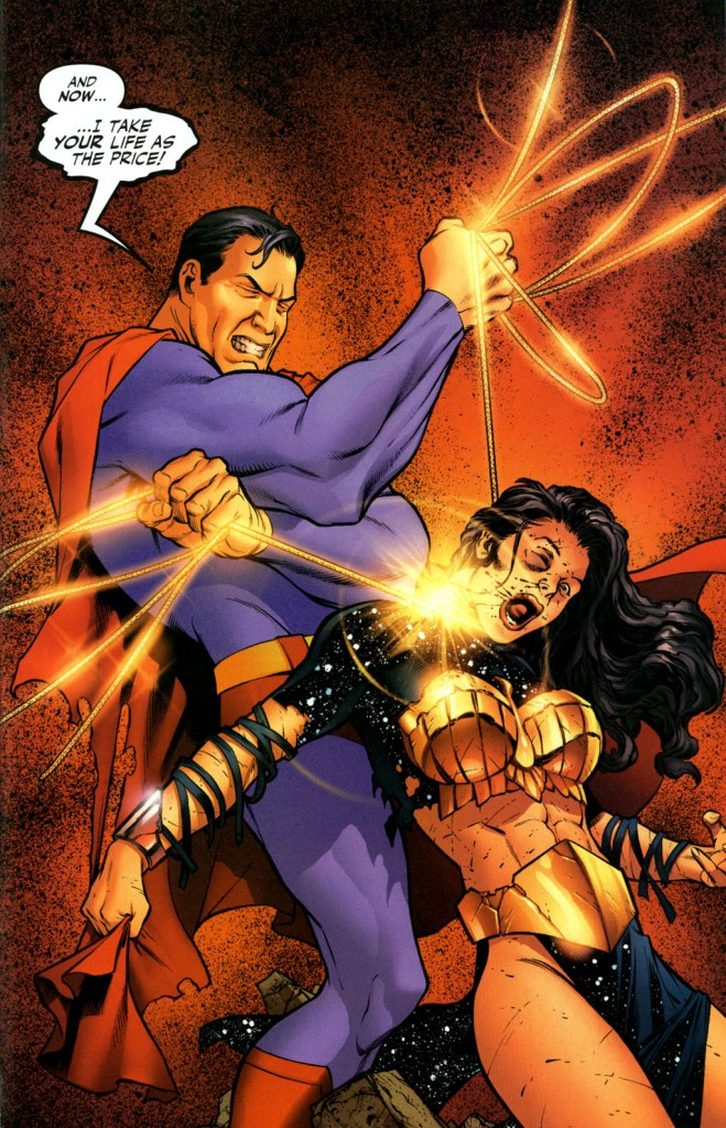 Superman kill Wonder Woman