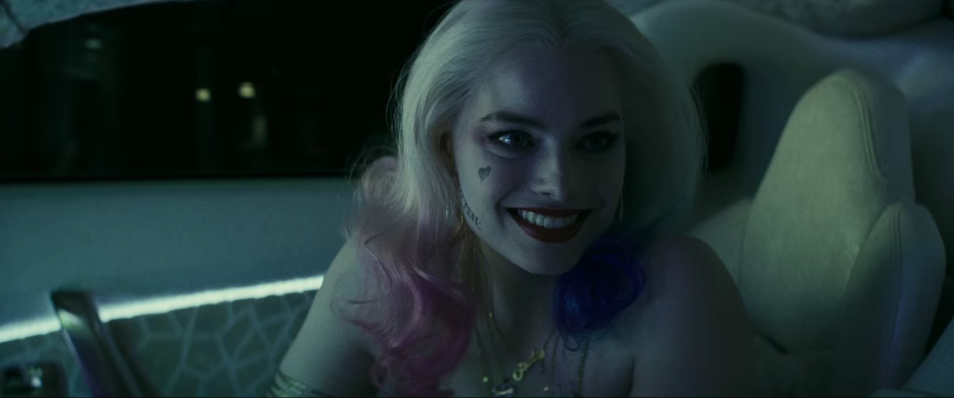 Harley Quinn Margot Robbie Smile