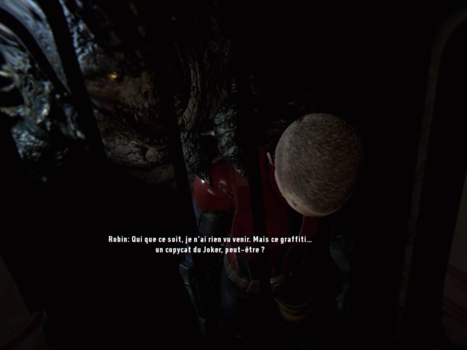 Arkham VR Croc Robin