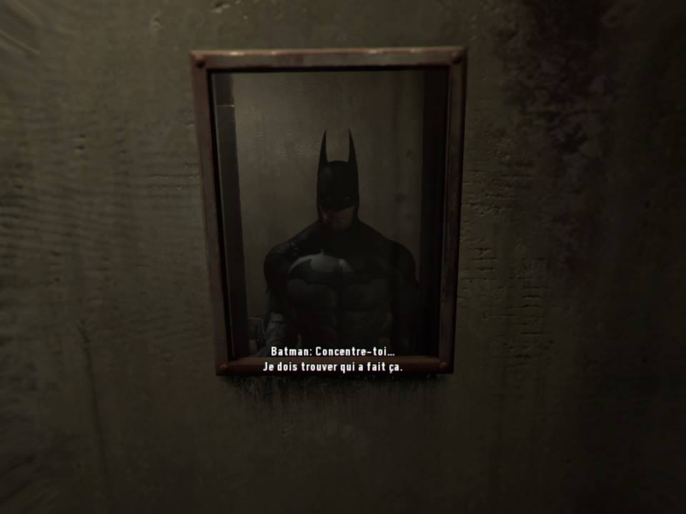 Arkham vr 2016 comics batman for Meurtre en miroir