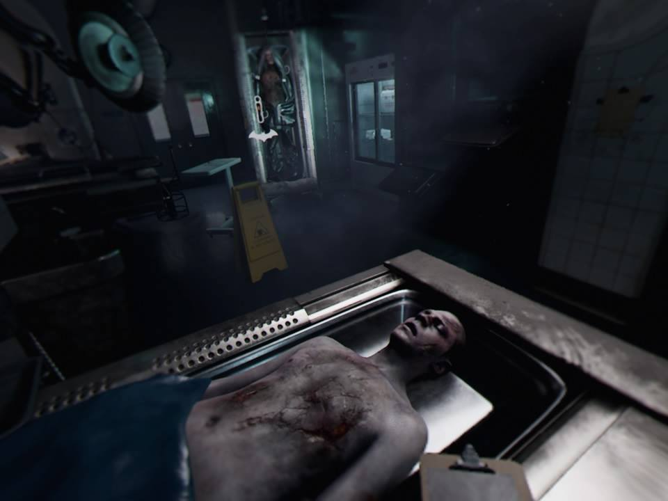 Arkham VR Morgue